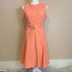 Calvin Klien Peach Dress Size 4
